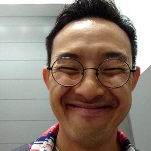 鹿島裕介の笑顔