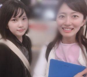 畑崎円と島袋明希子