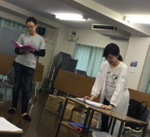 鹿島裕介と島袋明希子